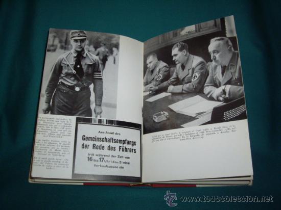 Militaria: HITLER - DIE REICHSKANZIEL VON 1933 BIS 1945 - EL TERCER REICH - Foto 10 - 28709419