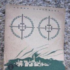Militaria: EL GENERAL VARELA - TEMAS ESPAÑOLES - Nº 77- INES GARCIA - 1954 - 28PP+4 FOTOS B/N. Lote 29152574