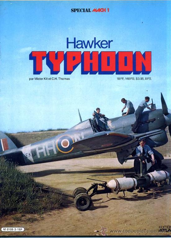 HAWKER TYPHOON (1980) - EN FRANCÉS (Militar - Libros y Literatura Militar)