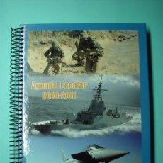 Militaria: AGENDA ESCOLAR FUERZAS ARMADAS ESPAÑA - 2010 -2011- SOLDADOS Y MARINEROS. Lote 30016389