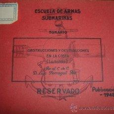 Militaria: ESCUELA DE ARMAS SUBMARINAS. Lote 30855293