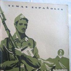 Militaria: LA MILICIA UNIVERSITARIA. ISASI GARCÍA, ALFREDO. 1954. Lote 31034719