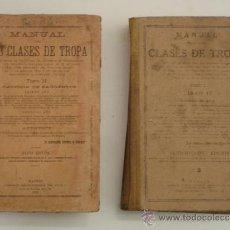 Militaria: MANUAL DE TROPAS 1915. Lote 31181779