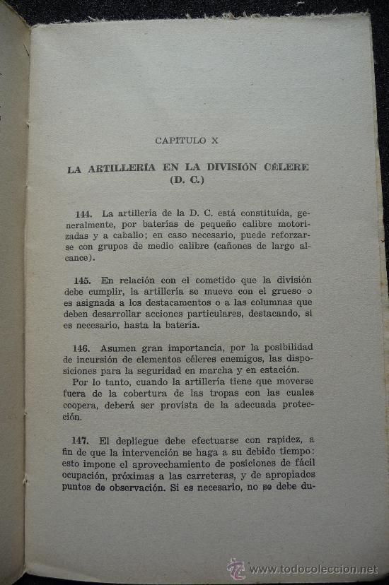 Militaria: (JX-109)LIBRO LA ARTILLERIA EN COMBATE,COMANDO TRUPPE VOLONTAIRE-GUERRA CIVIL - Foto 5 - 31561841