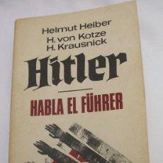 Militaria: HITLER HABLA EL FUHRER . Lote 35240127