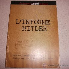 Militaria: EL INFORME HITLER--. Lote 31584357