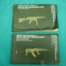 Militaria: PISTOLS AND SUB-MACHINE GUNS 1976 Y RIFLES AND LIGHT MACHINE GUNS POR DENIS ARCHER 1980. Lote 31710965