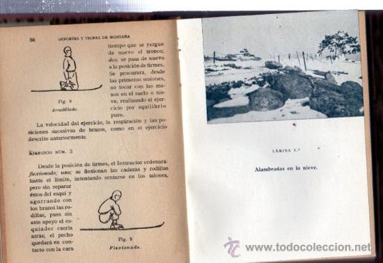 Militaria: DEPORTES Y TROPAS DE MONTAÑA, FRANCISCO JAVIER F.TRAPIELLA, 1942, TOLEDO - Foto 3 - 31844527