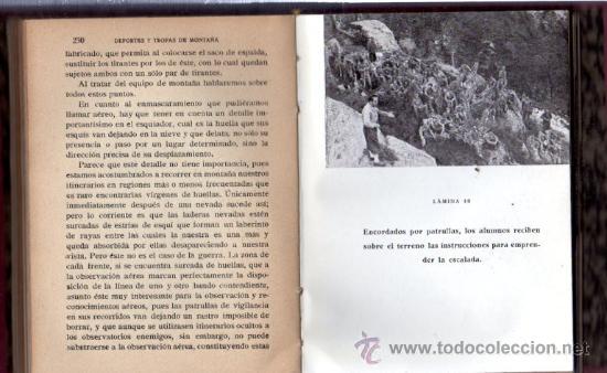 Militaria: DEPORTES Y TROPAS DE MONTAÑA, FRANCISCO JAVIER F.TRAPIELLA, 1942, TOLEDO - Foto 2 - 31844527