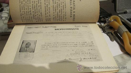 Militaria: NITS DE SEVILLA - UN MES ENTRE ELS REBELS - PER JEAN ALLOUCHERIE - AÑO CA 1938 -Joaquim Vilá Bisa - Foto 3 - 31935344