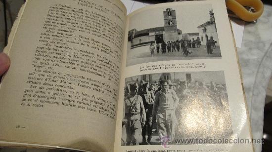 Militaria: NITS DE SEVILLA - UN MES ENTRE ELS REBELS - PER JEAN ALLOUCHERIE - AÑO CA 1938 -Joaquim Vilá Bisa - Foto 4 - 31935344