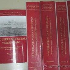 Militaria: LA GUERRA SILENCIOSA Y SILENCIADA - FERNANDO Y SALVADOR MORENO - MADRID 1998 - 5 TOMOS COMPLETA. Lote 32109765