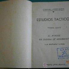 Militaria: EL ATAQUE EN GUERRA DE MOVIMIENTO, 1945, 81 PÁGINAS. Lote 32116881