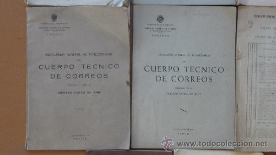 Militaria: Lote de libros del cuerpo de Correos, de años 20, 30 y 40. Y el especial 50 aniversario - Foto 5 - 32134898