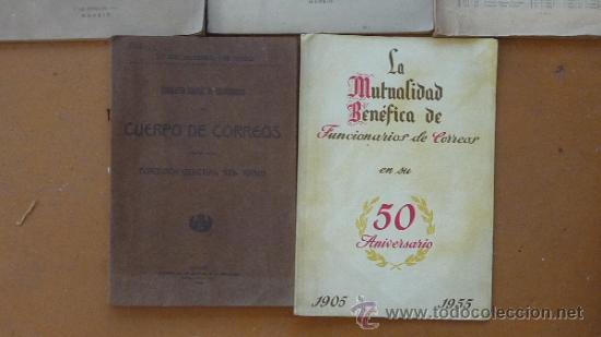 Militaria: Lote de libros del cuerpo de Correos, de años 20, 30 y 40. Y el especial 50 aniversario - Foto 6 - 32134898