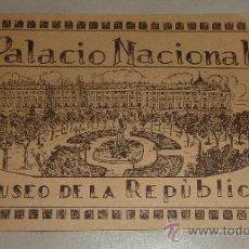 Militaria: LIBRITO ORIGINAL: PALACIO NACIONAL MUSEO DE LA REPUBLICA. AÑOS 30.. Lote 32322857