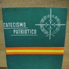 Militaria: CATECISMO PATRIOTICO. Lote 32436631