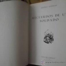 Militaria: II GUERRA MUNDIAL RECUERDOS DE UN SOLDADO MEMORIAS HEINZ GUDERIAN 1963 FOTOS Y MAPAS 2º EDICION. Lote 32602729