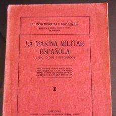Militaria: LA MARINA MILITAR ESPAÑOLA 1930. Lote 32609670