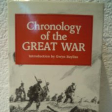 Militaria: CRONOLOGY OF THE GREAT WAR ( THREE VOLLUMES IN ONE) 1914-1919. Lote 32837944