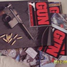 Militaria: GUN, DOCE FASCICULOS DEL MUNDO DEL ARMA LIGERA.. Lote 80801454