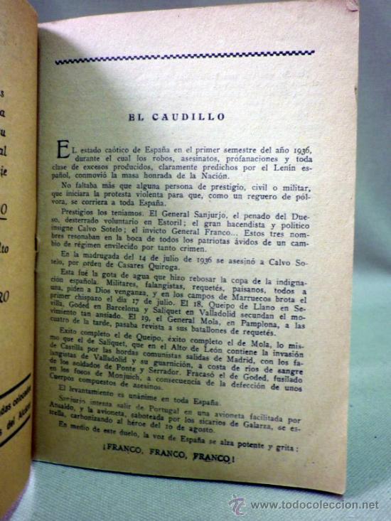 Militaria: LIBRO PINCELADAS, ALCAZAR DE TOLEDO, RECUERDO GLORIOSAS RUINAS DE 1936, MADRID 1947 - Foto 3 - 80706583