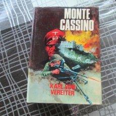 Militaria: MONTE CASSINO KARL VON VEREITER,PRODUCIONES EDITORIALES AÑO 1975. Lote 33514985