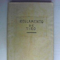 Militaria: 1929 REGLAMENTO PARA LA INSTRUCCION DEL TIRO DE ARTILLERIA PRIMERA PARTE. Lote 33531042