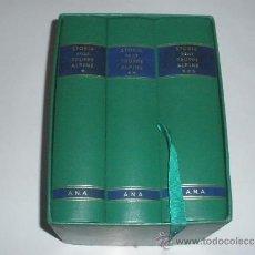 Militaria: STORIA DELLE TRUPPE ALPINE - 1872-1972 - EMILIO FALDELLA - 3 TOMOS EN ESTUCHE.. Lote 33574600