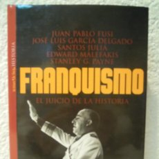 Militaria: FRANQUISMO EL JUICIO DE LA HISTORIA. Lote 33616646