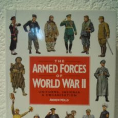 Militaria: THE ARMED FORCES OF WORLD WAR II - UNIFORMS, INSIGNIAS & ORGANISATION . Lote 33744833