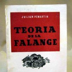 Militaria: LIBRO, TEORIA DE LA FALANGE, SECCION FEMENINA, JONS. Lote 33807011