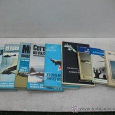 Militaria: LOTE DE NUEVE LIBROS DE AVIACIÓN EN ESPAÑOL. Lote 34014002