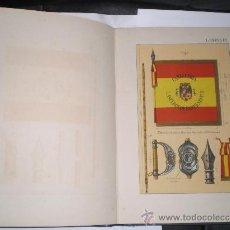 Militaria: REGLAMENTO DE BANDERAS, INSIGNIAS Y DISTINTIVOS - 1945. Lote 34356926