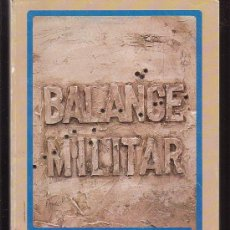Militaria: BALANCE MILITAR, EJERCITO 1987 - 88. Lote 34920319