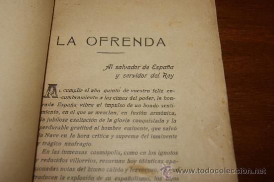 Militaria: Antiguo libro El dictador y la dictadura, Barcelona 1928 - Foto 5 - 35239460