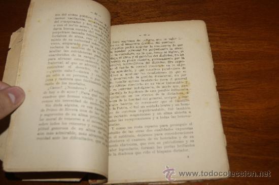 Militaria: Antiguo libro El dictador y la dictadura, Barcelona 1928 - Foto 6 - 35239460