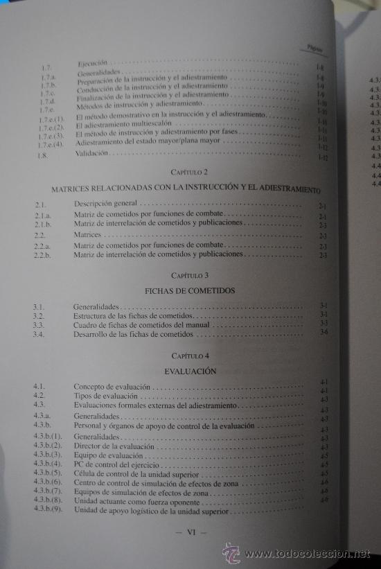 Militaria: MANUAL DE ADIESTRAMIENTO DEL REGIMIENTO DE CABALLERIA ACORAZADO DE COMANDANCIA GENERAL. EJERCITO - Foto 3 - 35325163