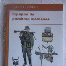 Militaria: CARROS DE COMBATE - EQUIPOS DE COMBATE ALEMANES OSPREY PUBLISHING. Lote 35513305