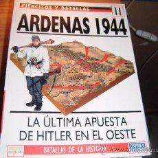 Militaria: OSPREY EJERCITOS Y BATALLAS. ARDENAS 1944. Lote 35772078