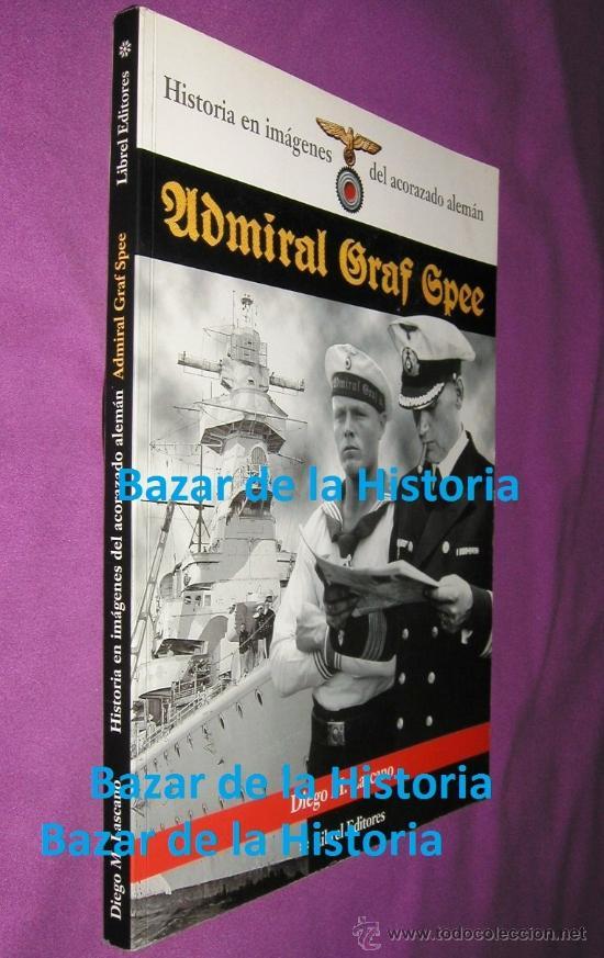 Militaria: Historia en imágenes del acorazado alemán ADMIRAL GRAF SPEE, Kriegsmarine, III Reich 1999 MUY RARO - Foto 2 - 35567941
