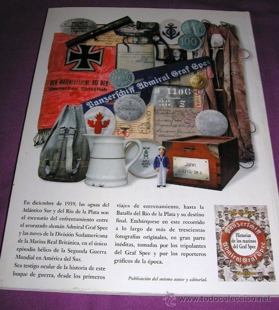 Militaria: Historia en imágenes del acorazado alemán ADMIRAL GRAF SPEE, Kriegsmarine, III Reich 1999 MUY RARO - Foto 3 - 35567941