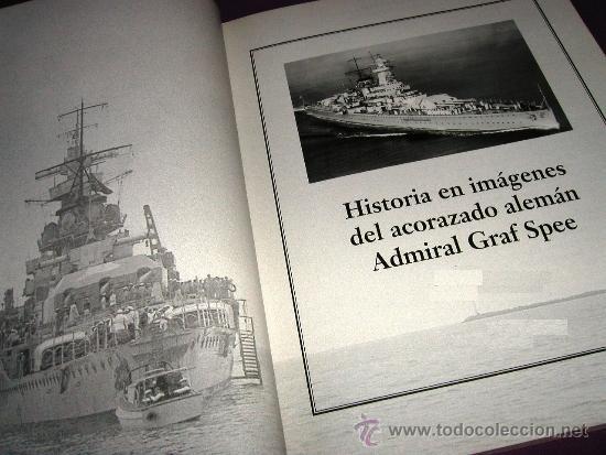 Militaria: Historia en imágenes del acorazado alemán ADMIRAL GRAF SPEE, Kriegsmarine, III Reich 1999 MUY RARO - Foto 5 - 35567941