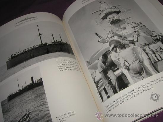 Militaria: Historia en imágenes del acorazado alemán ADMIRAL GRAF SPEE, Kriegsmarine, III Reich 1999 MUY RARO - Foto 8 - 35567941