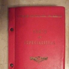 Militaria: LIBRO - ESCUELA DE AUTOMOVILISMO DEL EJERCITO - CURSO DE ESPECIALISTAS - TECNICA AUTOMOVIL - AVERIAS. Lote 36086009
