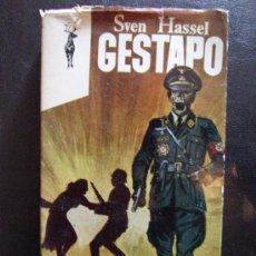 Militaria: LIBRO DE LA SEGUNDA GUERRA MUNDIAL GESTAPO - SVEN HASSEL - RENO / PLAZA & JANES. Lote 158602404