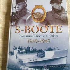 Militaria: S-BOOT GERMAN E-BOOTS IN ACTION. Lote 36520182