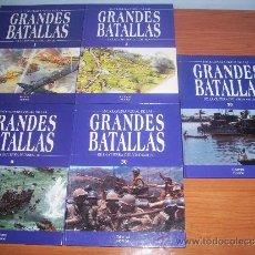 Militaria: LOTE DE 3 LIBROS GRANDES BATALLAS DE LA HISTORIA. Lote 37129748