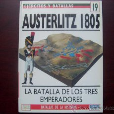 Militaria: EJERCITOS Y BATALLAS: Nº 19 - AUSTERLITZ 1805. Lote 103686071
