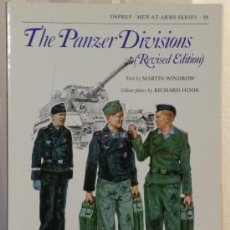 Militaria: THE PANZER DIVISIONS (REVISED EDITION). Lote 37391576